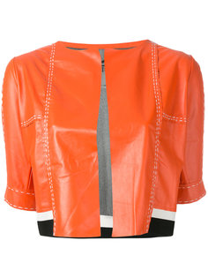 cropped short sleeve jacket Aviù