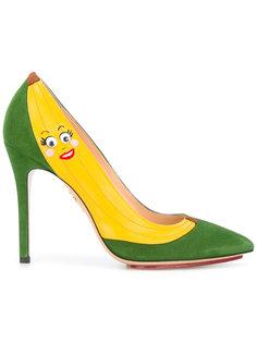 banana pumps Charlotte Olympia
