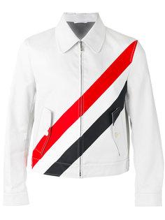 куртка в полоску Thom Browne