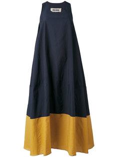 платье дизайна колор-блок Uma Wang