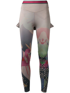 multi-print leggings Sàpopa