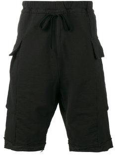 шорты с заниженным шаговым швом The Viridi-Anne