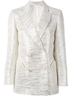 пиджак с вышивкой металлик Blazé Milano