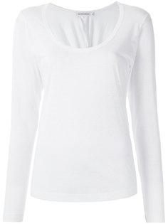 round neck blouse Giuliana Romanno