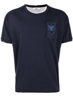 футболка с вышивкой из бисера Valentino