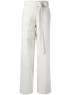 belted wide leg trousers  Charlie May