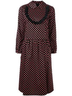 платье-рубашка с узором в горох Comme Des Garçons Girl