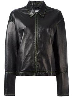 куртка с контрастной строчкой Maison Margiela