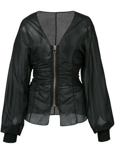 fitted zip jacket  Alexandre Vauthier
