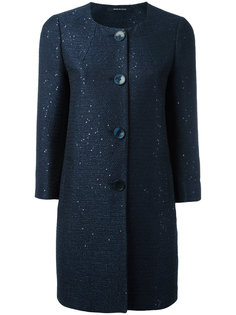 пальто с круглым вырезом Tagliatore