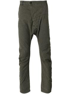 drop-crotch trousers Andrea Yaaqov