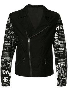 куртка с вышивкой Yohji Yamamoto