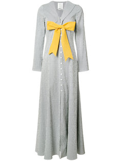 платье с контрастным бантом Rosie Assoulin