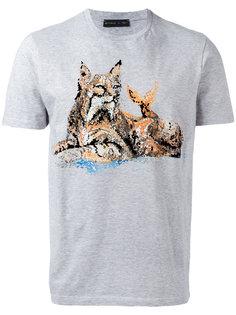 футболка с котом Etro