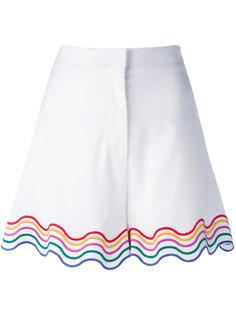 шорты с радужной окантовкой Sara Battaglia