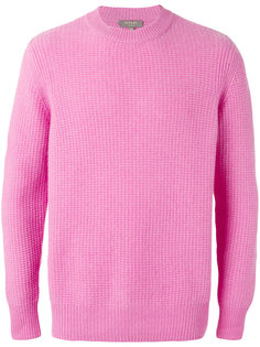 waffle knit jumper N.Peal