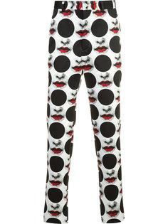 Inkjet print trousers  Comme Des Garçons Homme Plus