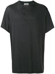 футболка с асимметричной пуговичной планкой  Yohji Yamamoto