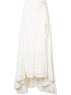 длинная юбка с разрезом спереди Jonathan Simkhai