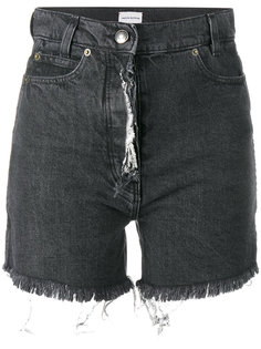 джинсовые шорты с необработанными краями Magda Butrym