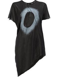 платье-футболка с асимметричным подолом Lost & Found Ria Dunn