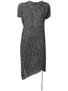 длинная асимметричная футболка Lost & Found Ria Dunn