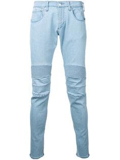 джинсы с панелями в рубчик monkey time