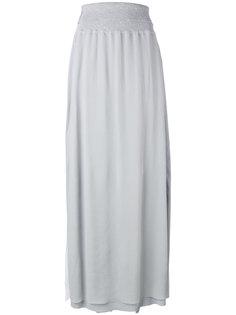 длинная юбка прямого кроя Lorena Antoniazzi