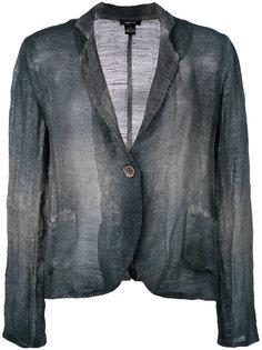 overdyed single breasted jacket Avant Toi