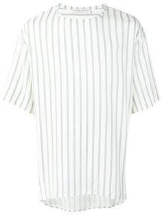 футболка в тонкую полоску Lucio Vanotti