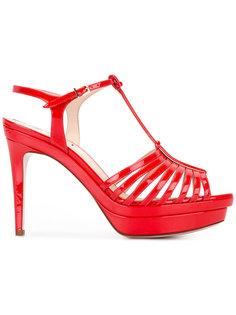 босоножки на высоком каблуке Fendi