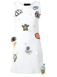 мини-платье без рукавов с заплатками Michaela Buerger