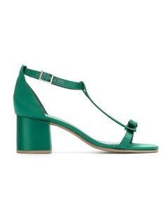 bock heel sandals Studio Chofakian