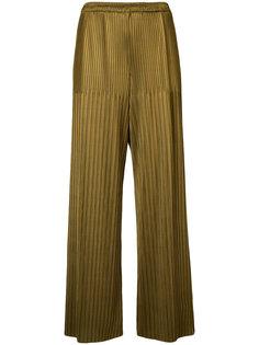 плиссированные брюки Simon Miller
