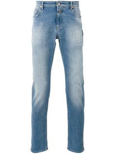 рваные джинсы Closed