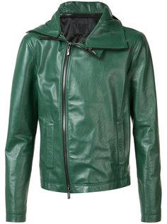 hooded zip jacket  D.Gnak