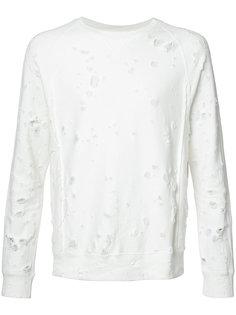 distressed sweatshirt The Soloist