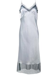 платье на бретелях с кружевной отделкой Walk Of Shame