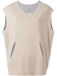 блузка с декоративными вырезами Boboutic