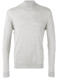 fine gauge mock turtle neck jumper N.Peal