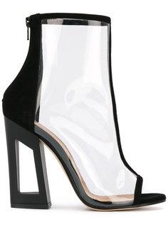 transparent boots Marc Ellis