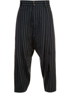 striped cropped pants  Vivienne Westwood Man