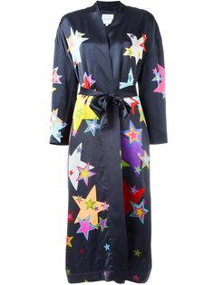 халат с рисунком из звезд Mira Mikati