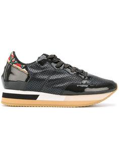 декорированные кроссовки со шнуровкой  Philippe Model