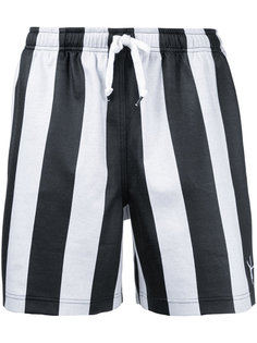 striped soccer shorts Alexander Wang