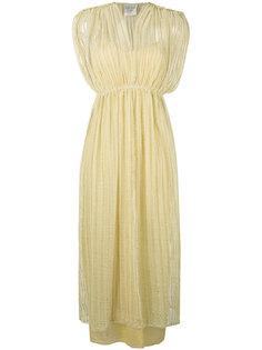 платье миди с кружевным слоем Forte Forte