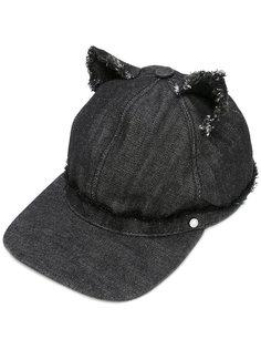 джинсовая кепка с ушками Karl Lagerfeld