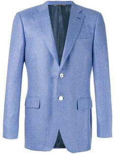 hounstooth pattern blazer  Canali
