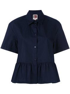 ruffled shortsleeved shirt IM Isola Marras