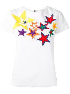 блузка с нашивками-звездами Mira Mikati